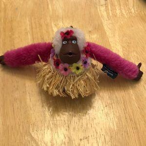 Kipling Aloha monkey keychain